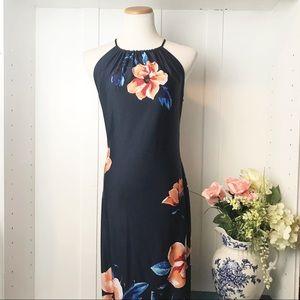 Olivia Matthews Floral Maxi Dress